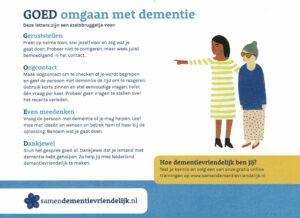Dementievriendelijke uitvaartzorg